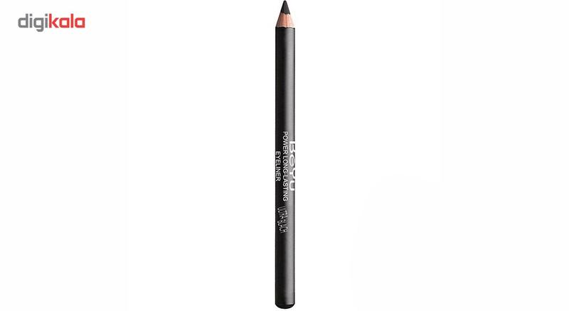 مداد چشم بی یو مدل Power Long Lasting شماره 01