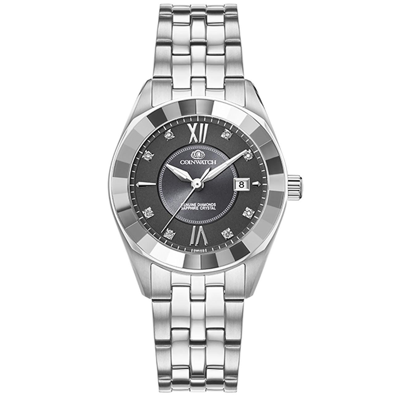 ساعت مچی عقربه ای زنانه کوین واچ مدل C156SGY
