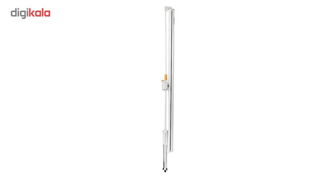 قیمت                      پرده نمایش پایه دار پروژکتور ایکستریم سایز 180x180