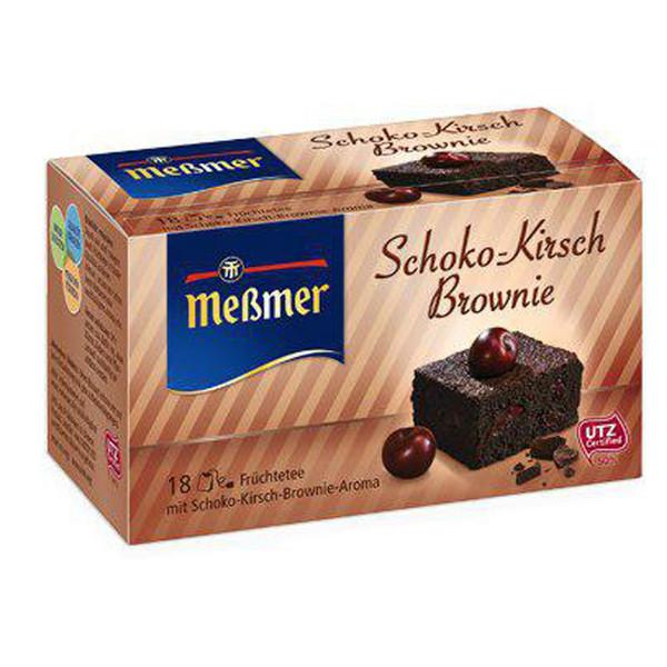بسته دمنوش گیاهی کیک  براونی  مسمر مدل Schoko Kirsche Brownie