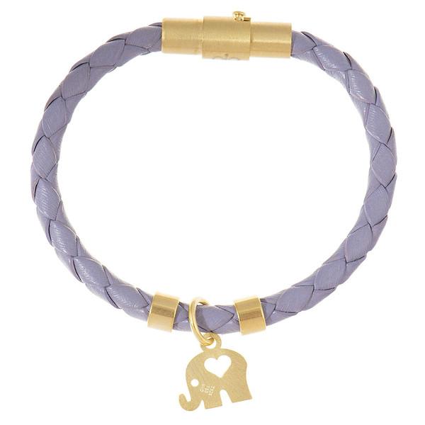 دستبند کودکانه طلا 18 عیار رزا مدل BW105