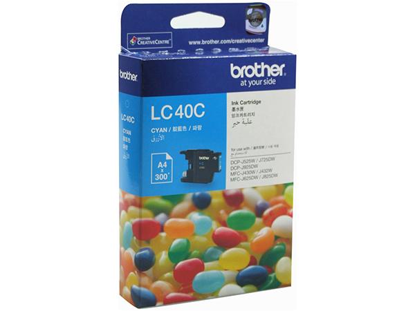 قیمت                      کارتریج پرینتر برادر LC40C ( آبی )