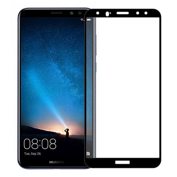محافظ صفحه نمایش تمپرد مدل فول چسب مناسب برای گوشی موبایل هواوی Mate 10 Lite