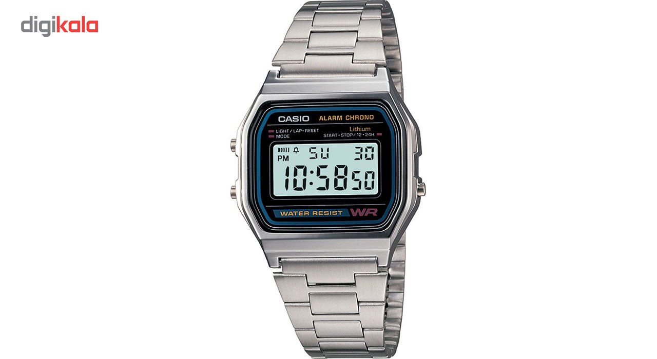 خرید ساعت مچی دیجیتالی کاسیو مدل A158WA-1DF | ساعت مچی