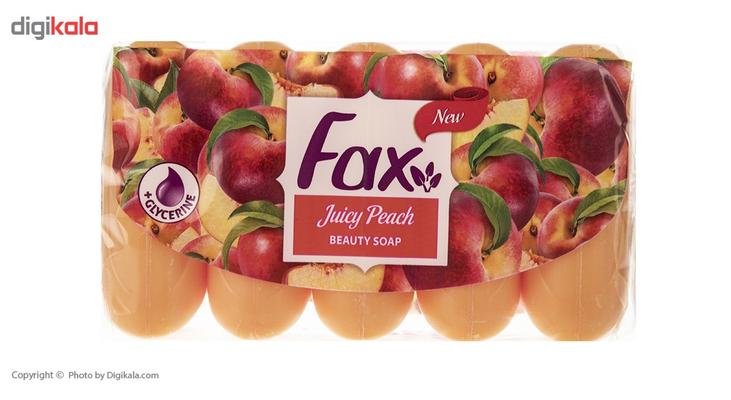 صابون فکس مدل Juicy Peach بسته 5 عددی