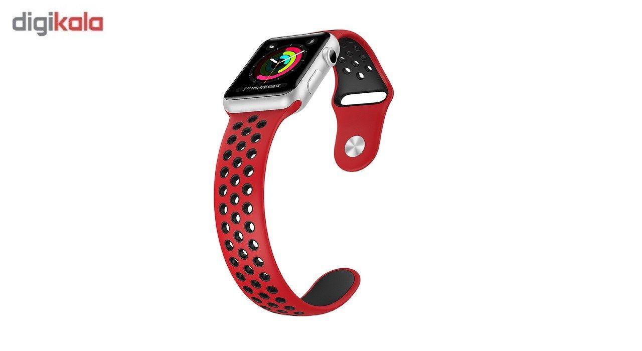 بند سیلیکونی طرح Nike مناسب برای اپل واچ 42 میلی متری main 1 1