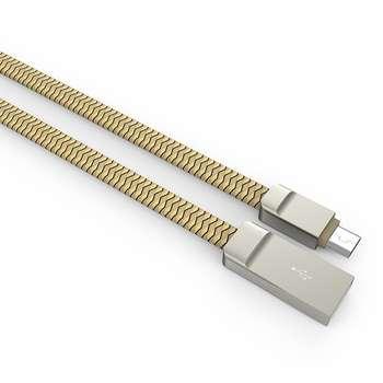 کابل تبدیل USB به microUSB الدینیو مدل LS20 به طول 1 متر