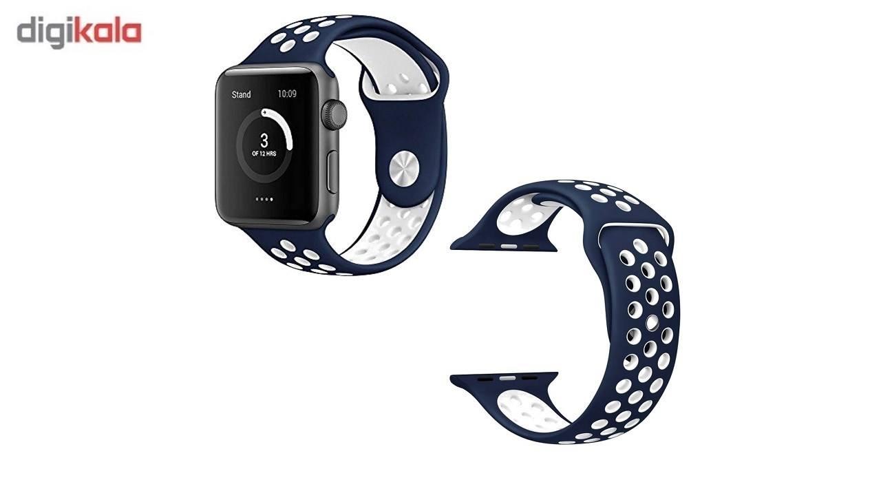 بند سیلیکونی طرح Nike مناسب برای اپل واچ 42 میلی متری main 1 3