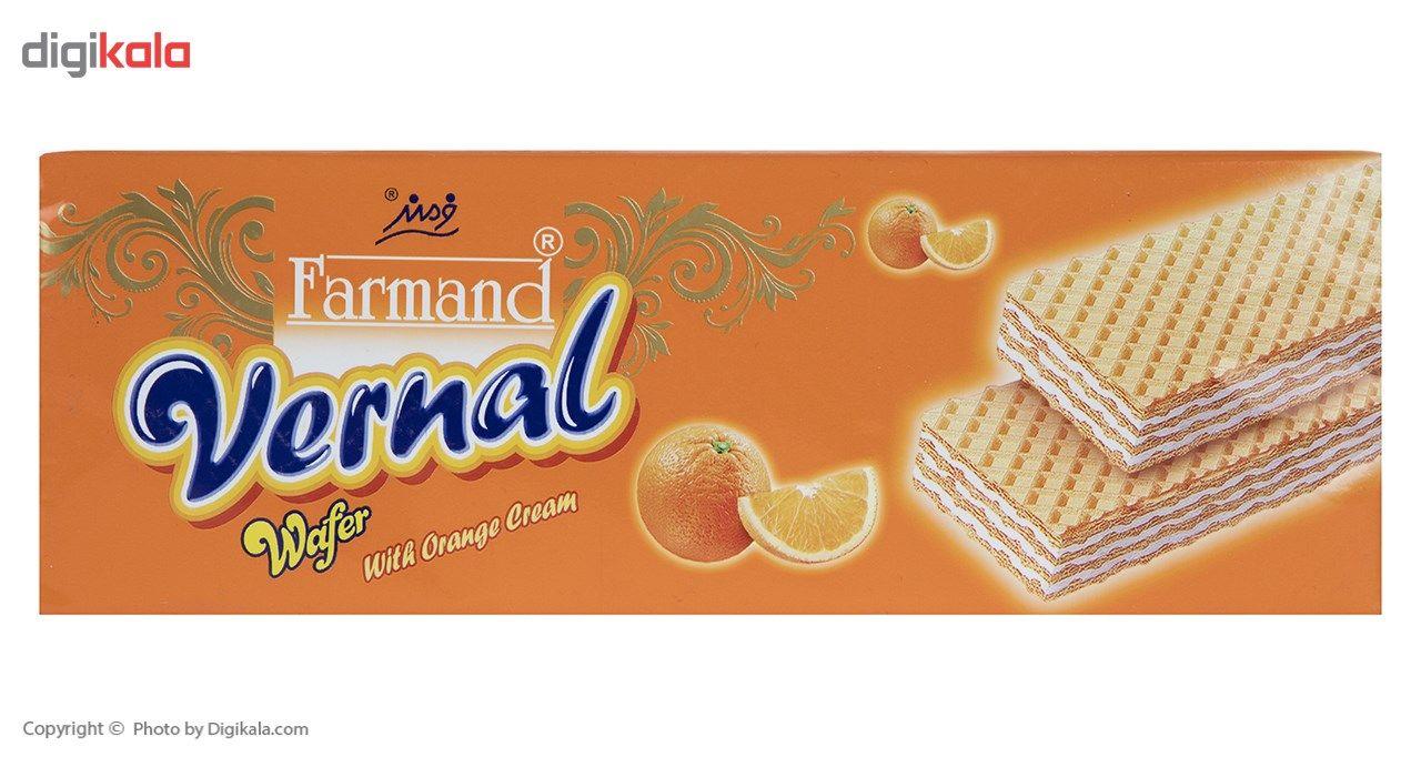 ویفر با کرم پرتقال فرمند مقدار 190 گرمی main 1 1