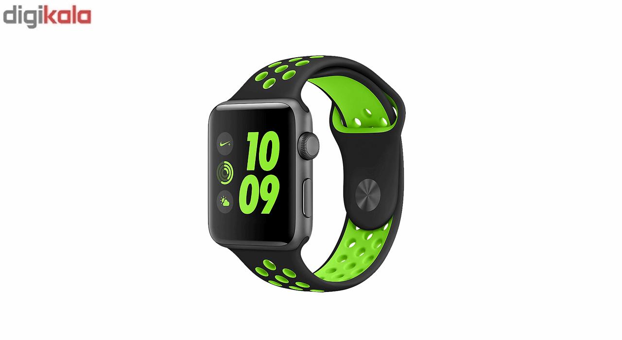 بند سیلیکونی طرح Nike مناسب برای اپل واچ 42 میلی متری main 1 6