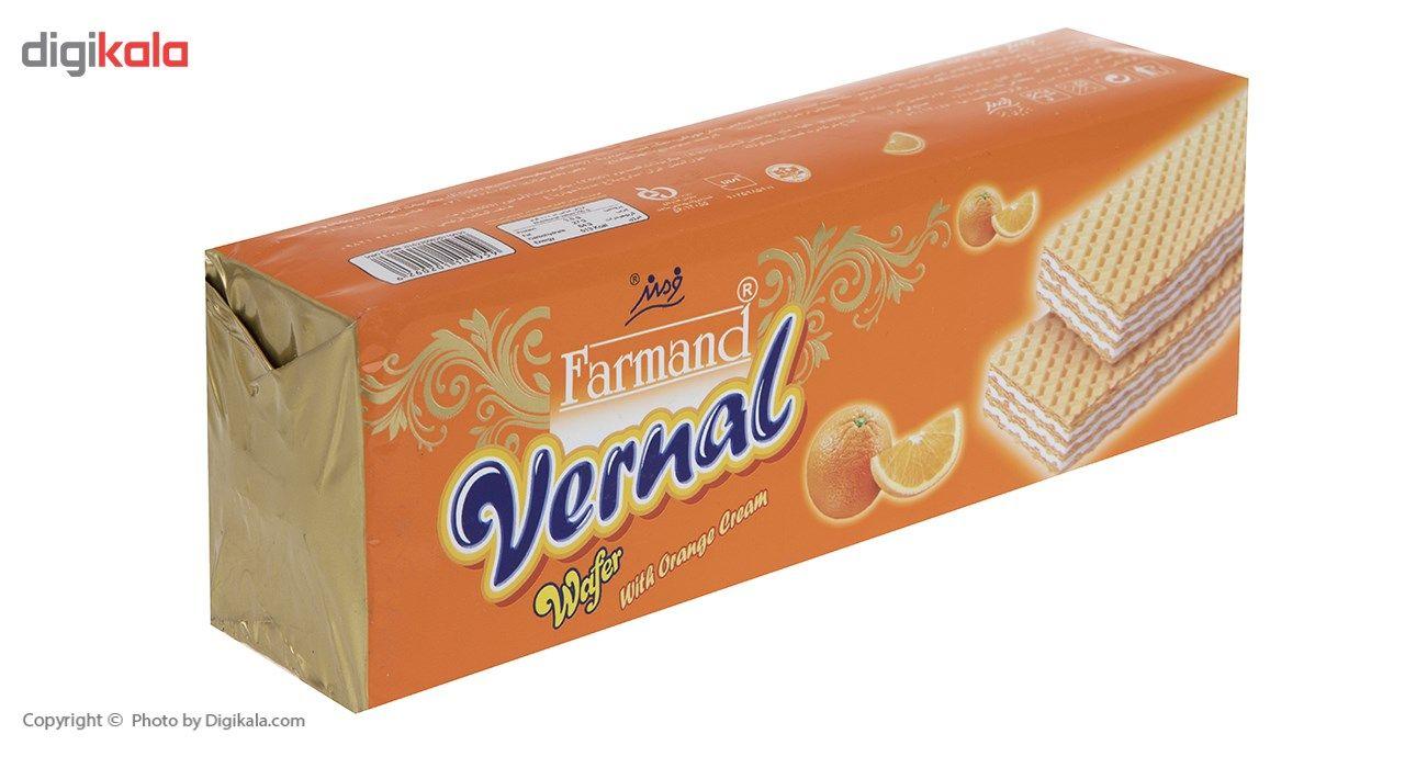 ویفر با کرم پرتقال فرمند مقدار 190 گرمی main 1 2