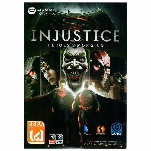بازی Injustice Heroes Among US مخصوص PC