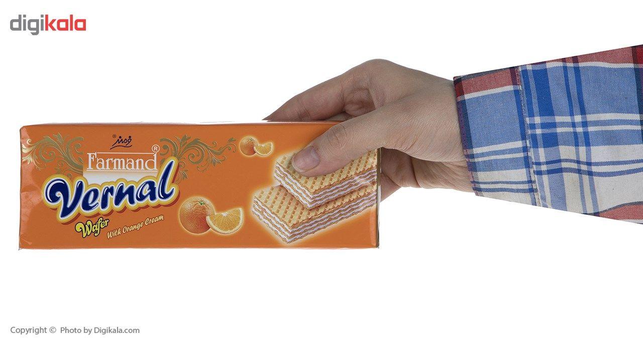 ویفر با کرم پرتقال فرمند مقدار 190 گرمی main 1 3