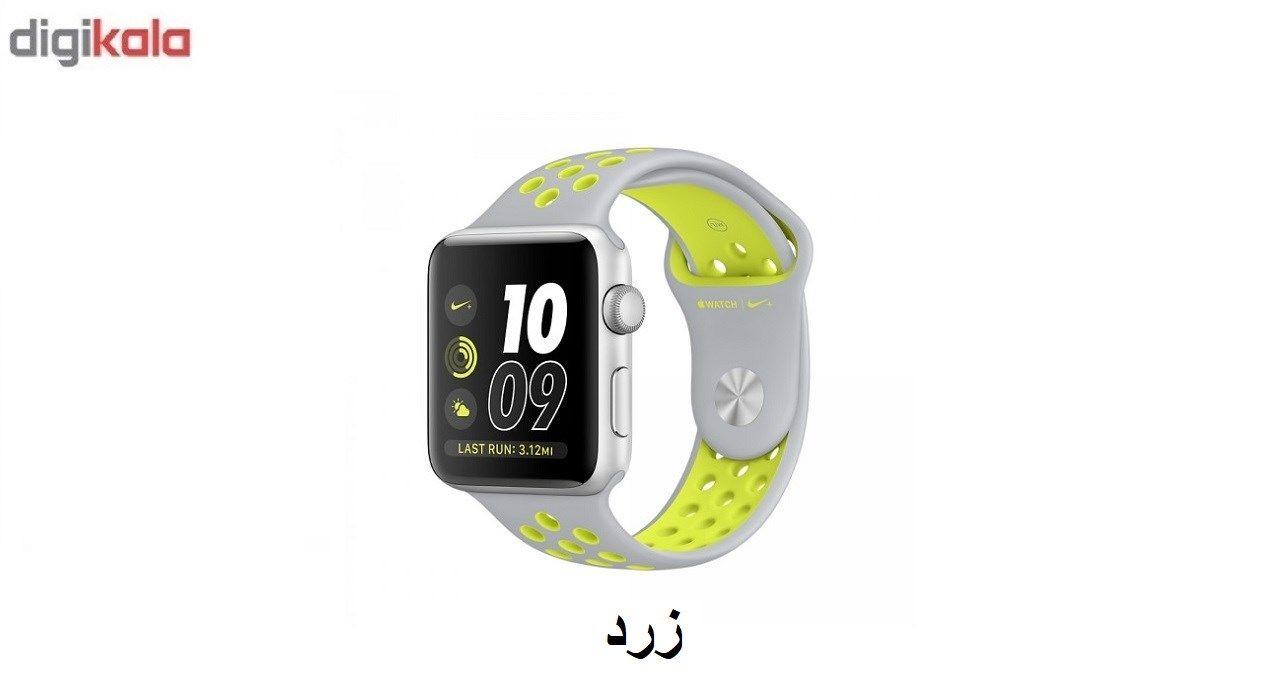 بند سیلیکونی طرح Nike مناسب برای اپل واچ 42 میلی متری main 1 7