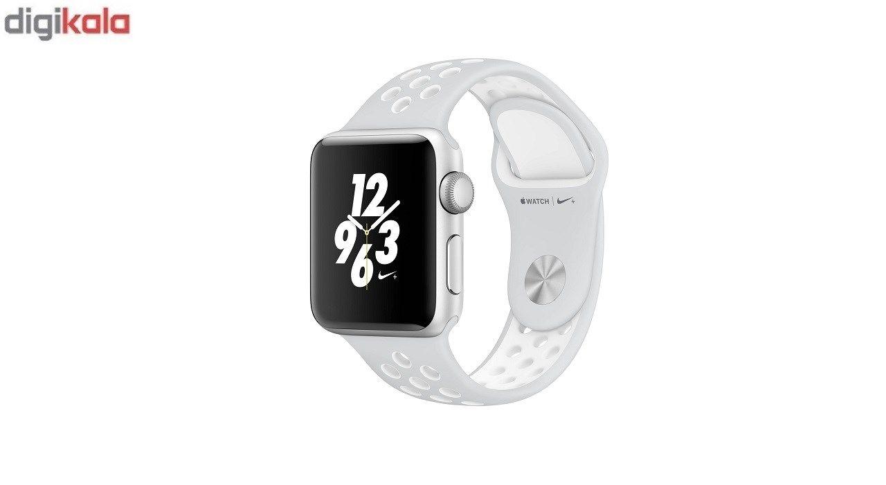 بند سیلیکونی طرح Nike مناسب برای اپل واچ 42 میلی متری main 1 8