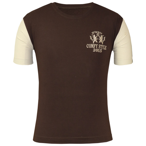 تی شرت آستین کوتاه مردانه آریان نخ باف مدل 1838