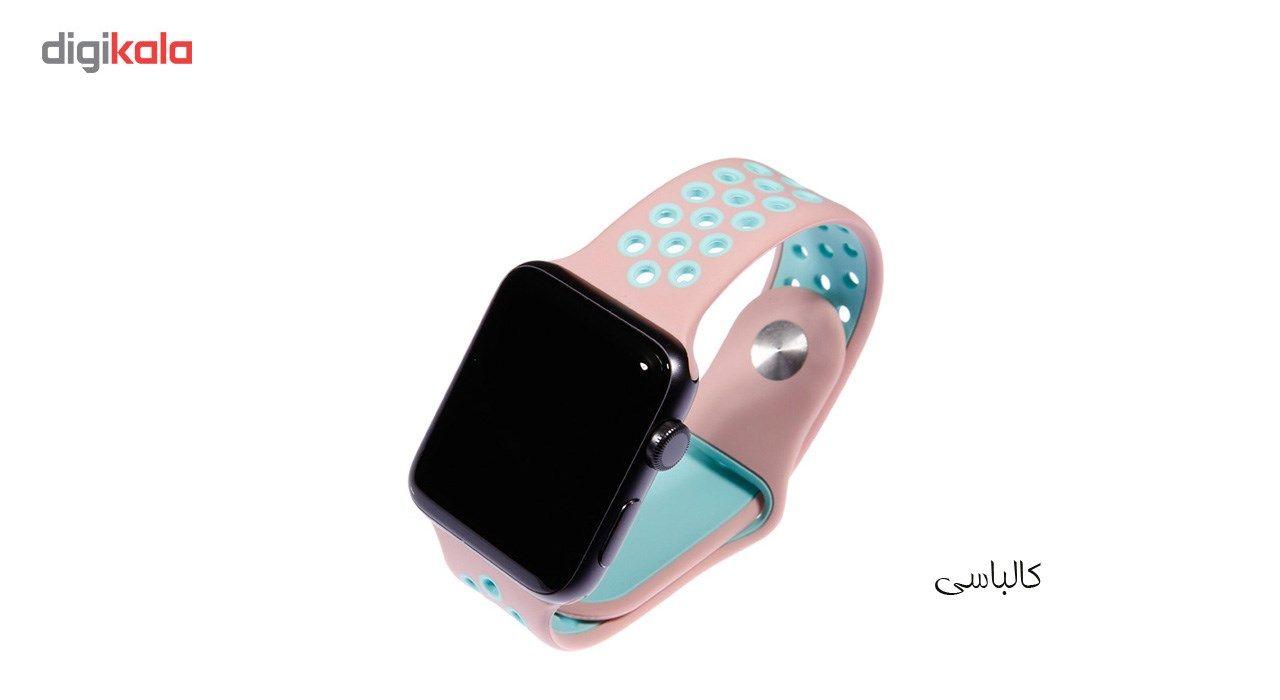 بند سیلیکونی طرح Nike مناسب برای اپل واچ 42 میلی متری main 1 13