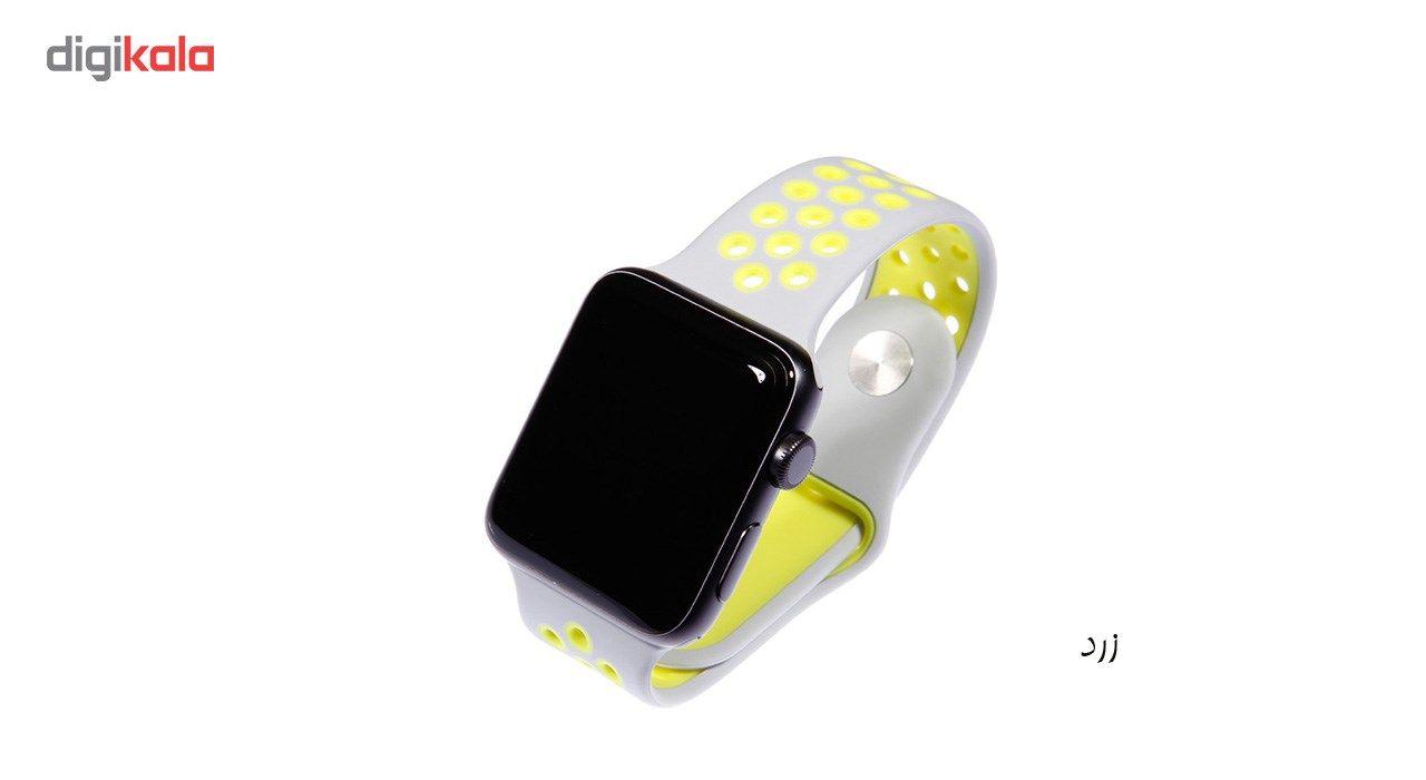 بند سیلیکونی طرح Nike مناسب برای اپل واچ 42 میلی متری main 1 18