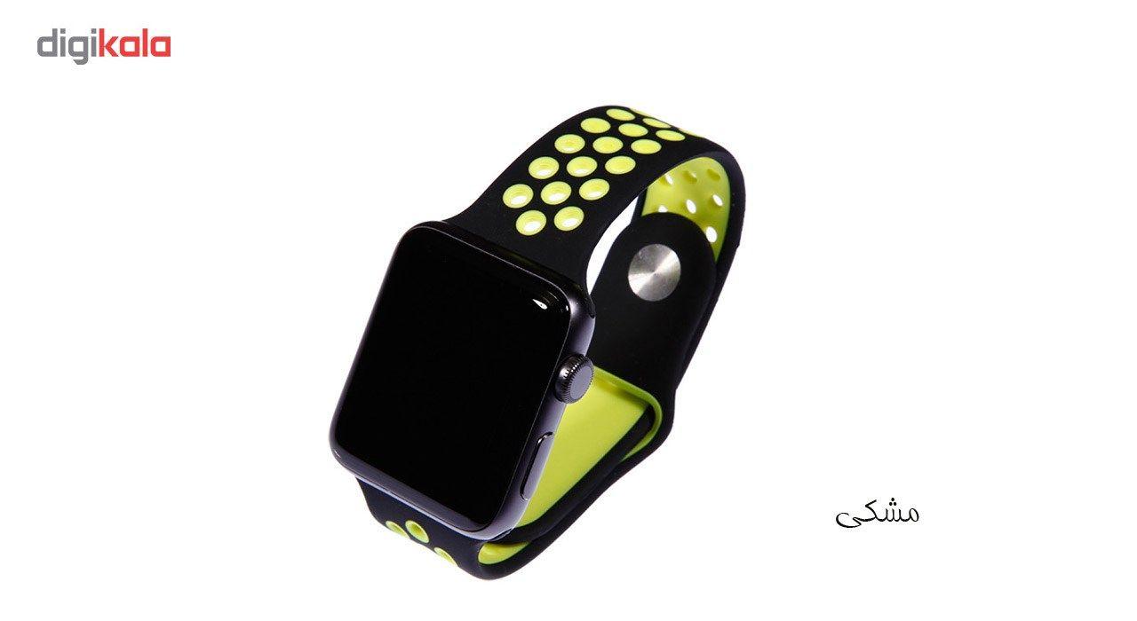 بند سیلیکونی طرح Nike مناسب برای اپل واچ 42 میلی متری main 1 20