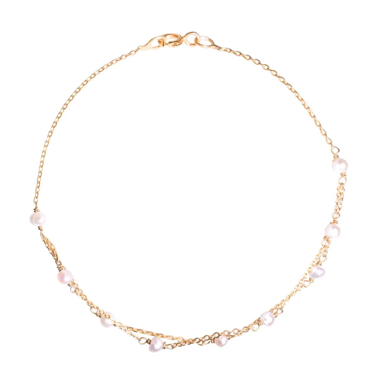 دستبند طلا 18 عیار گرامی گالری مدل B254