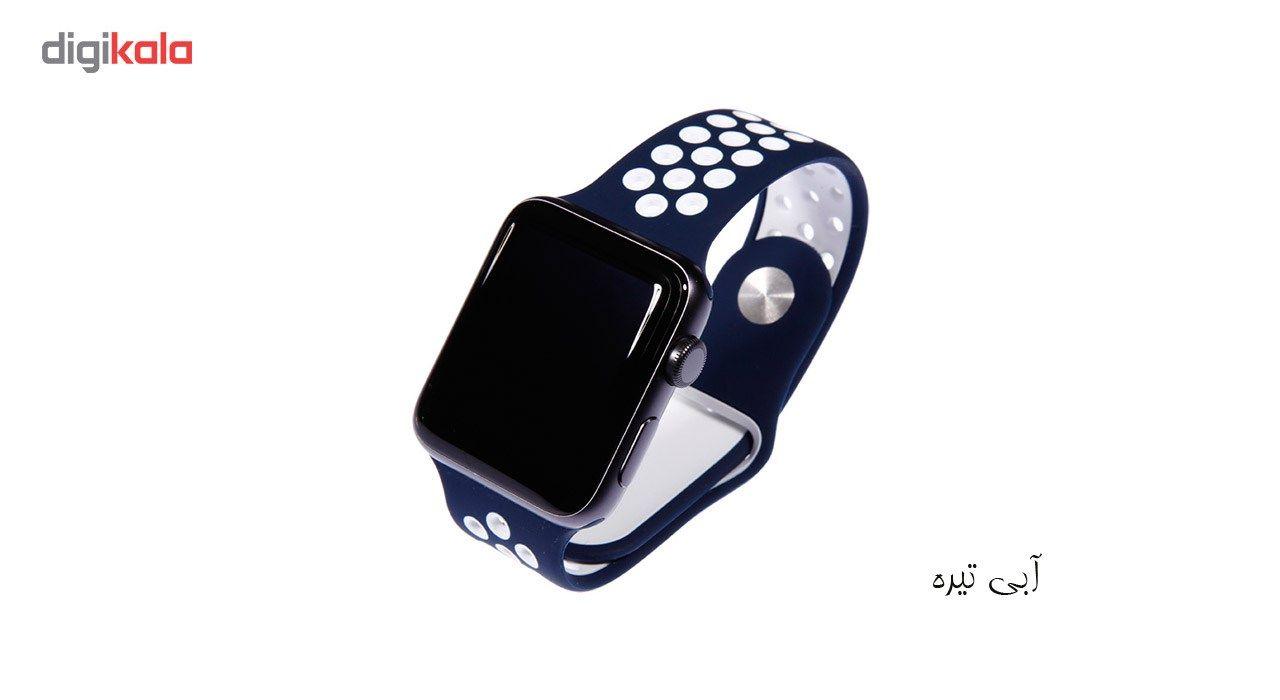 بند سیلیکونی طرح Nike مناسب برای اپل واچ 42 میلی متری main 1 22