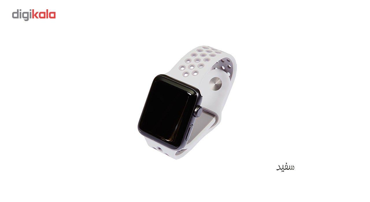 بند سیلیکونی طرح Nike مناسب برای اپل واچ 42 میلی متری main 1 23