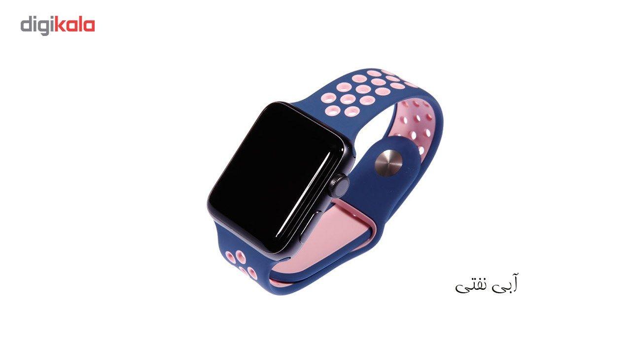 بند سیلیکونی طرح Nike مناسب برای اپل واچ 42 میلی متری main 1 25