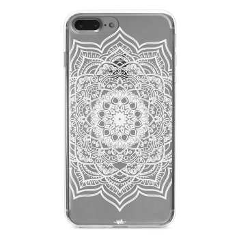 کاور  ژله ای مدل Flower mandala مناسب برای گوشی موبایل آیفون 7 پلاس و 8 پلاس