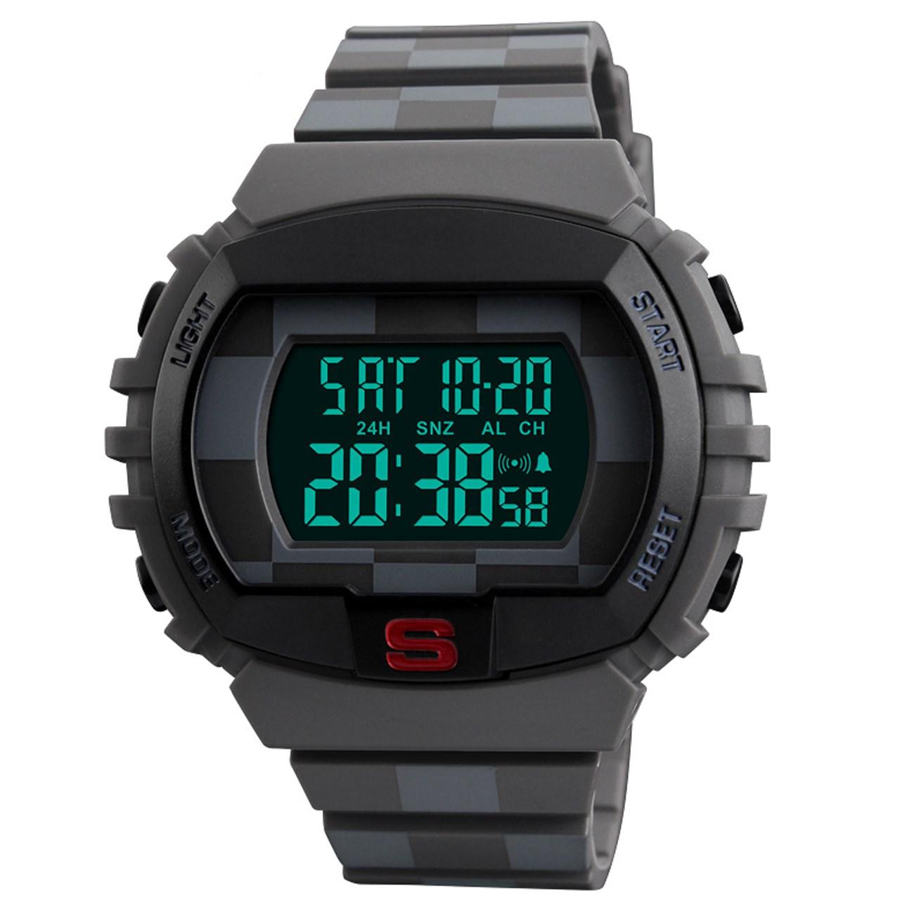 ساعت مچی دیجیتالی اسکمی مدل 1304 کد 02
