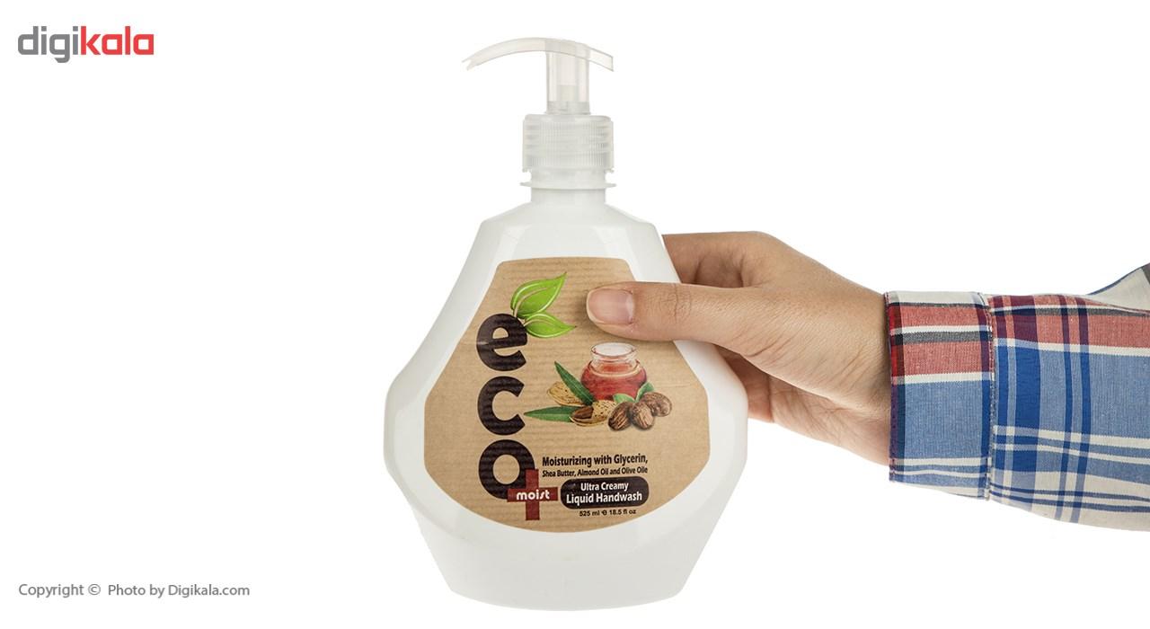 مایع دستشویی ایکو مویست مدل Ultra Creamy حجم 525 میلی لیتر main 1 3