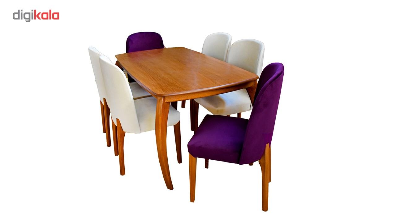 میز ناهارخوری و صندلی سی دا کد RS1001