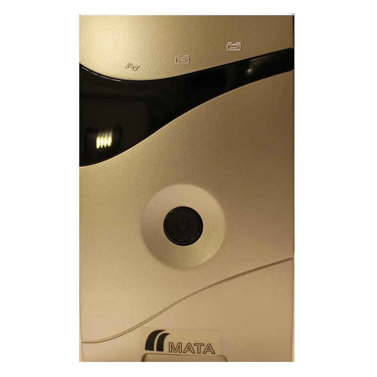 یو پی اس ماتا مدل PCF- 650 ظرفیت 650VA باتری داخلی | MATA PCF-650 UPS 650VA Internal Battery