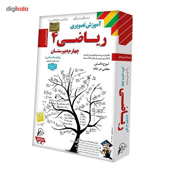 نرم افزار آموزش ریاضی 4 نشر لوح دانش - علوم انسانی