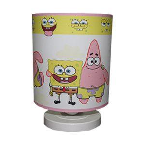 آباژور رومیزی کودک پینک مدل Yellow Spongebob