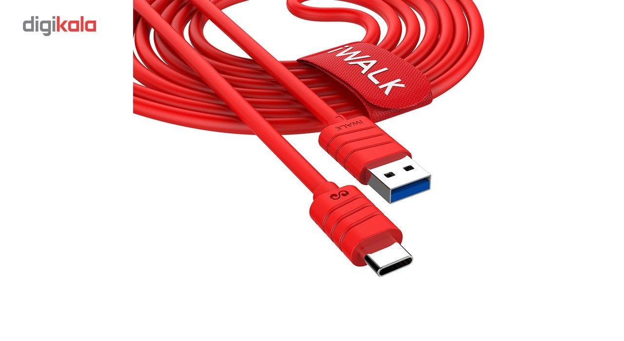 کابل تبدیل USB به USB-C آی واک مدل CST013 طول 1 متر main 1 4