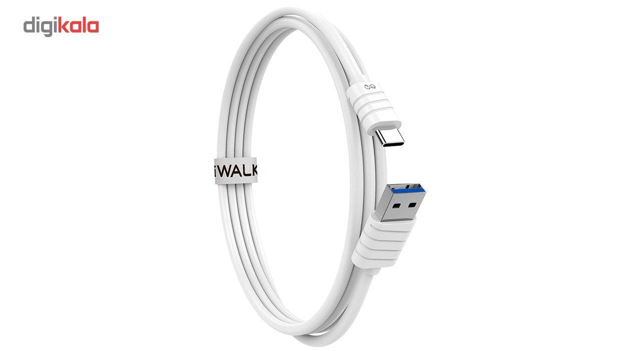 کابل تبدیل USB به USB-C آی واک مدل CST013 طول 1 متر main 1 5