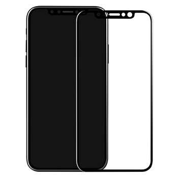 محافظ صفحه نمایش شیشه ای مدل 5D مناسب برای گوشی آیفون 10/X