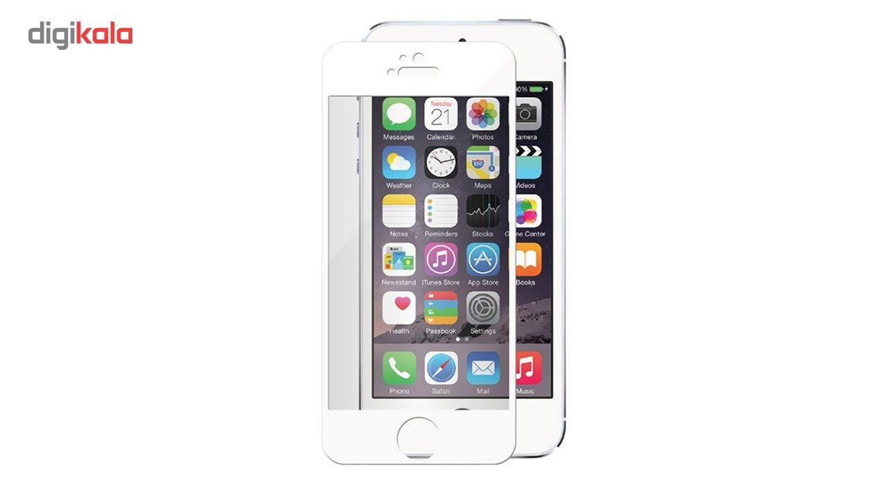 محافظ صفحه نمایش شیشه ای کوالا مدل Full Cover مناسب برای گوشی موبایل اپل آیفون5/5S/SE main 1 2