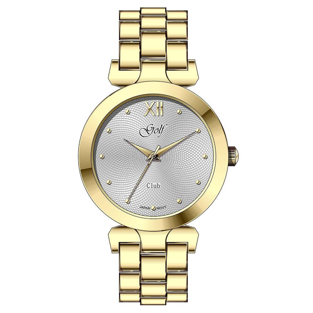 ساعت مچی عقربه ای زنانه گلف مدل L0112-2