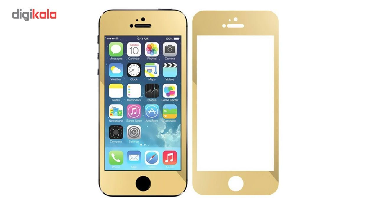 محافظ صفحه نمایش شیشه ای کوالا مدل Full Cover مناسب برای گوشی موبایل اپل آیفون5/5S/SE main 1 3