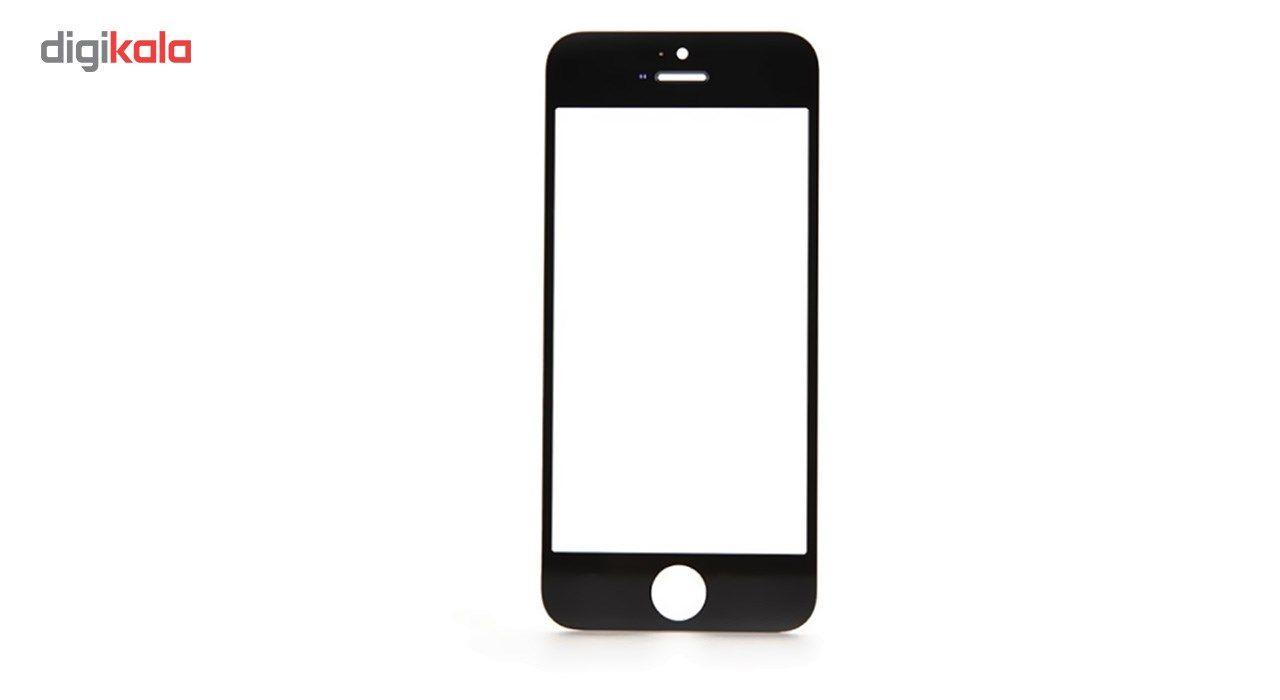 محافظ صفحه نمایش شیشه ای کوالا مدل Full Cover مناسب برای گوشی موبایل اپل آیفون5/5S/SE main 1 4