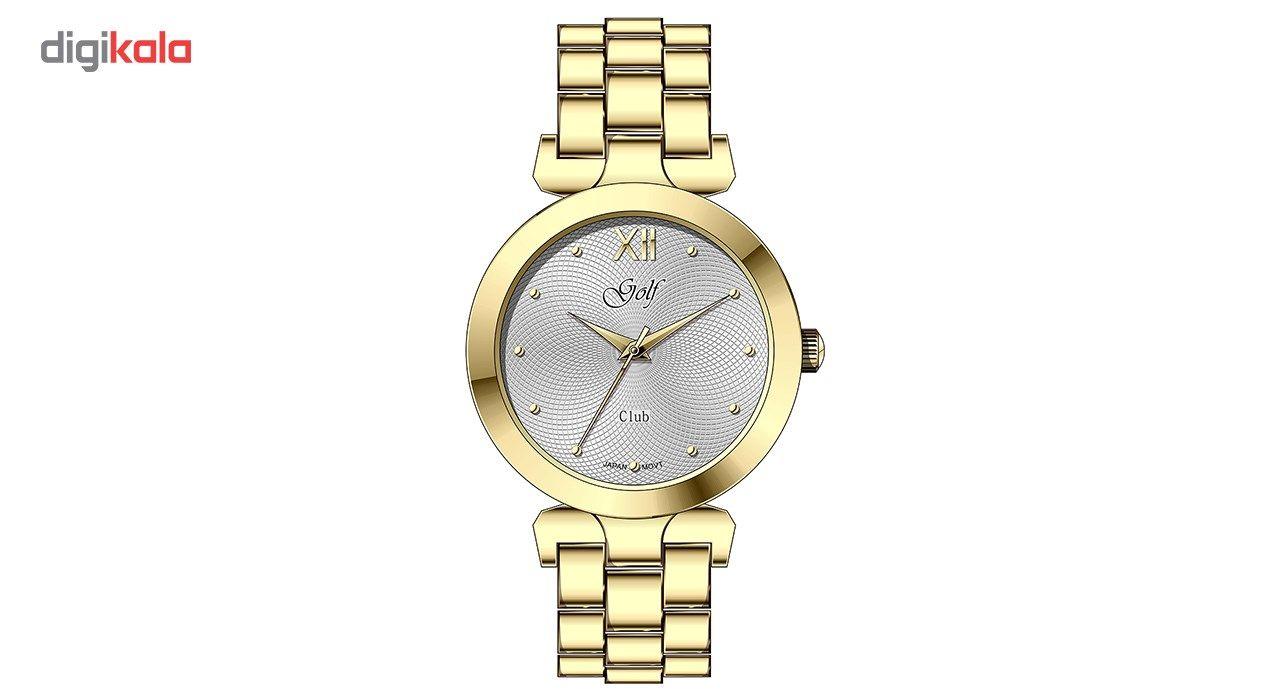 ساعت مچی عقربه ای زنانه گلف مدل L0112-2 -  - 2