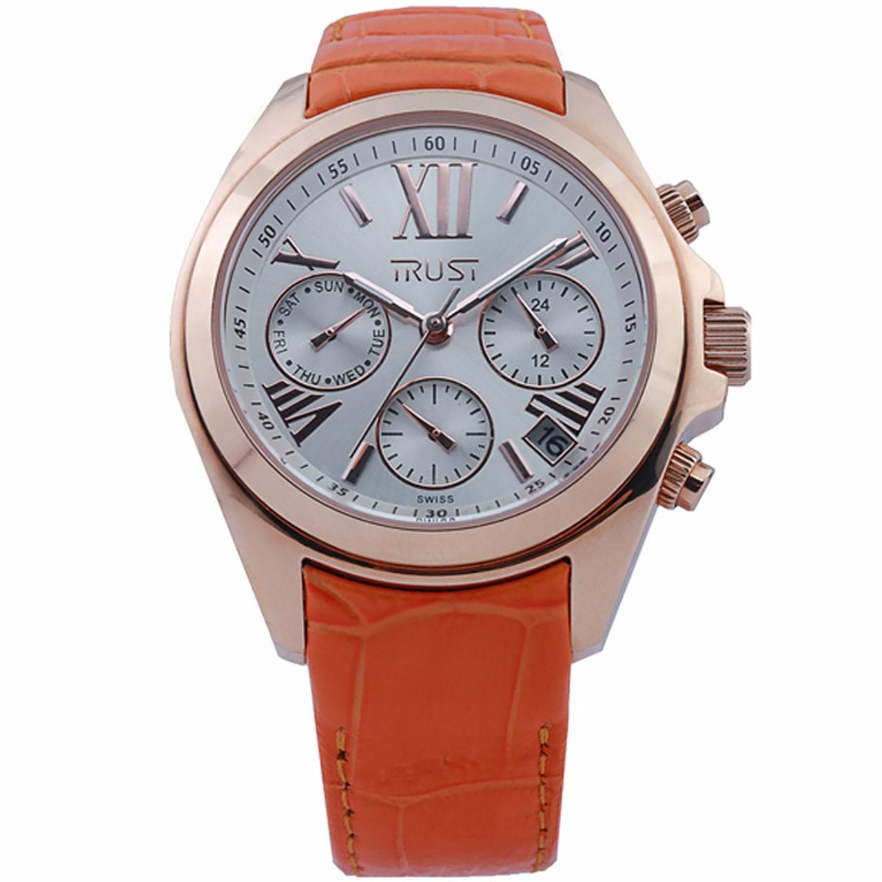 ساعت مچی عقربه ای زنانه تراست مدل L501CKI