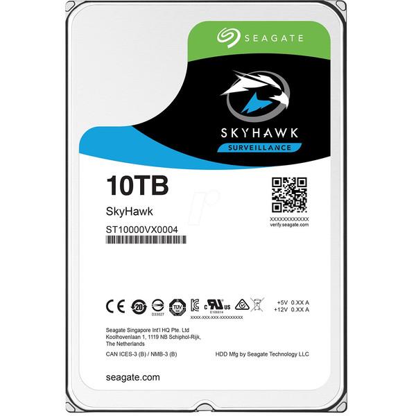 هارددیسک اینترنال سیگیت مدل SkyHawk ST10000VX0004 ظرفیت 10 ترابایت