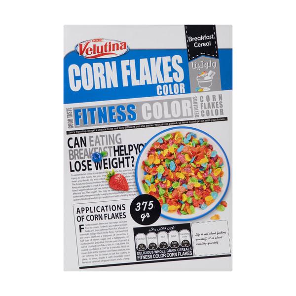 سریال صبحانه کورن فلکس رنگی ولوتینا 375 گرم