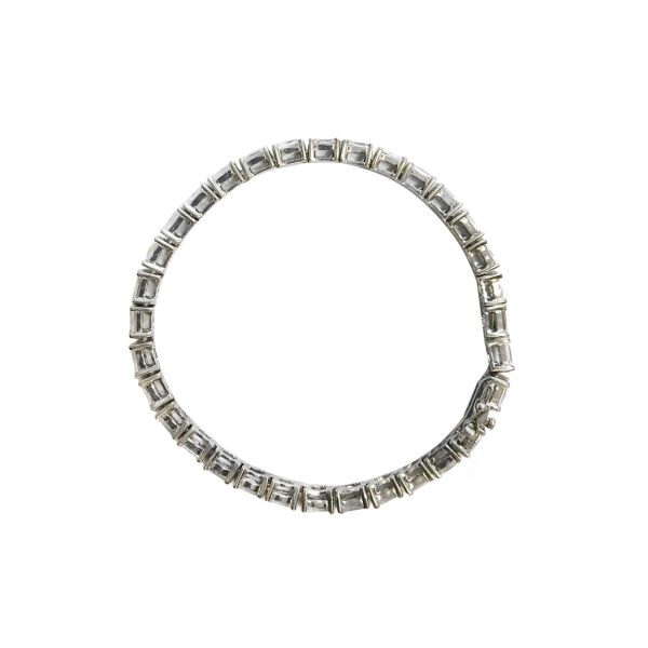 دستبند نقره سیلواستار مدل  AB005