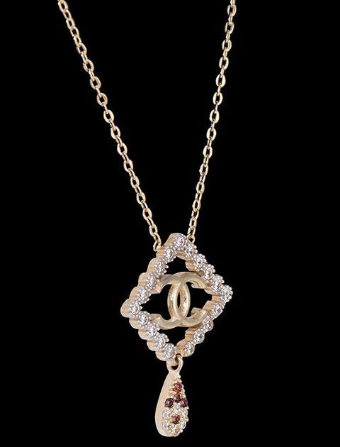 گردنبند طلا 18 عیار ماهک مدل MM0410 - مایا ماهک -  - 1