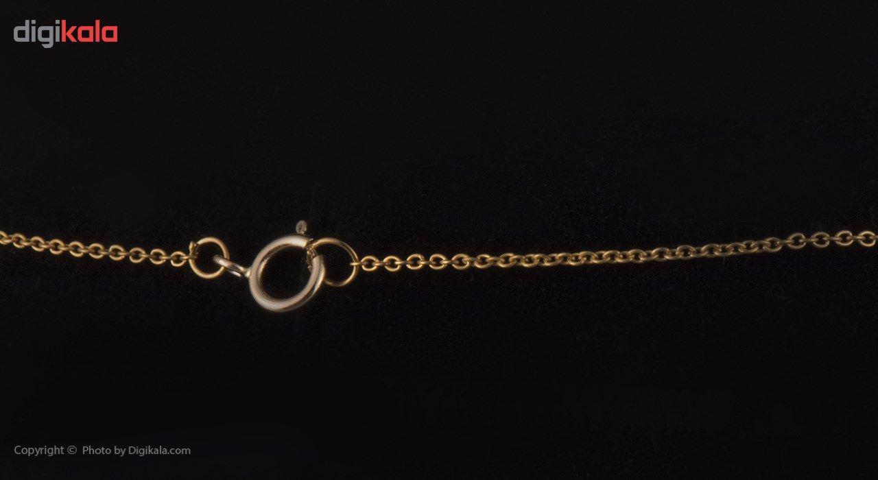 گردنبند طلا 18 عیار ماهک مدل MM0410 - مایا ماهک -  - 2