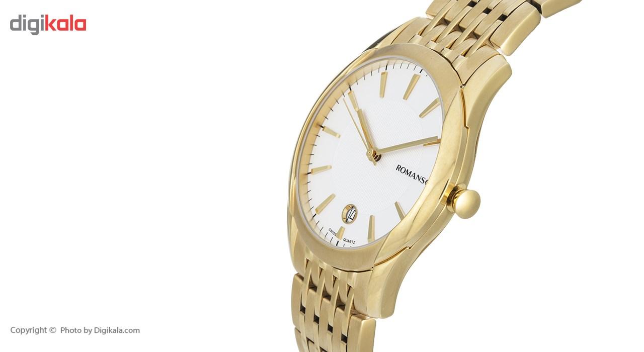 ساعت مچی عقربه ای مردانه رومانسون مدل TM8259MM1GAS1G