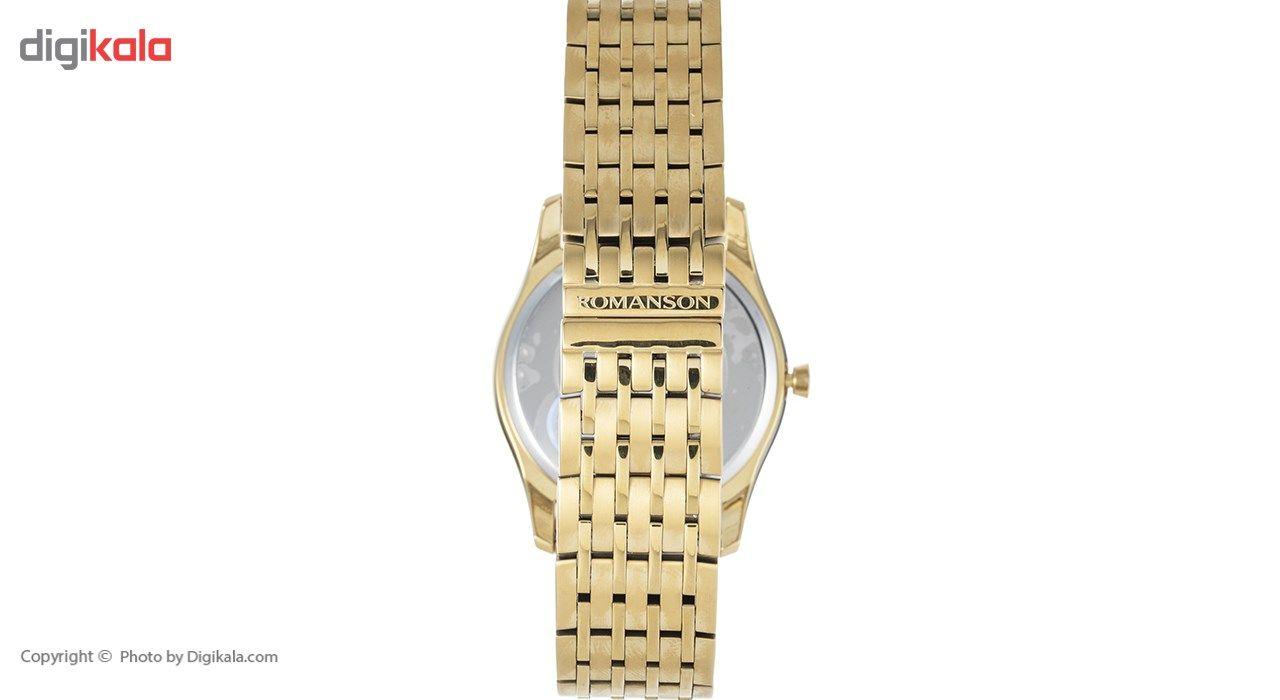 ساعت مچی عقربه ای مردانه رومانسون مدل TM8259MM1GAS1G -  - 3